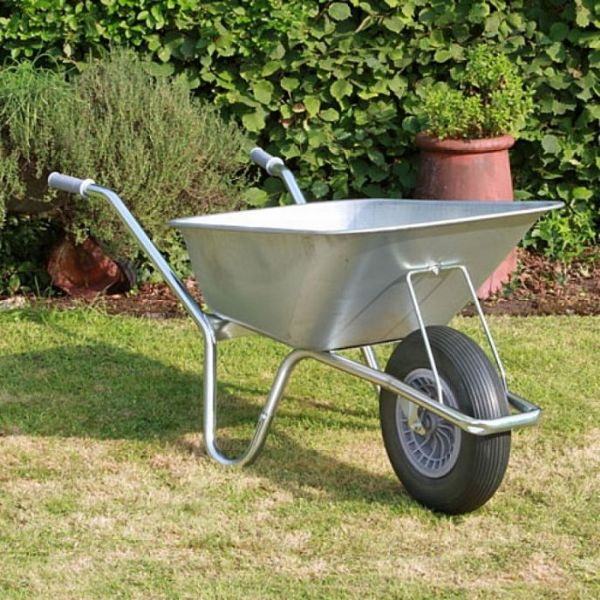 County Carrier Wheelbarrow | Galvanised Steel Wheelbarrow